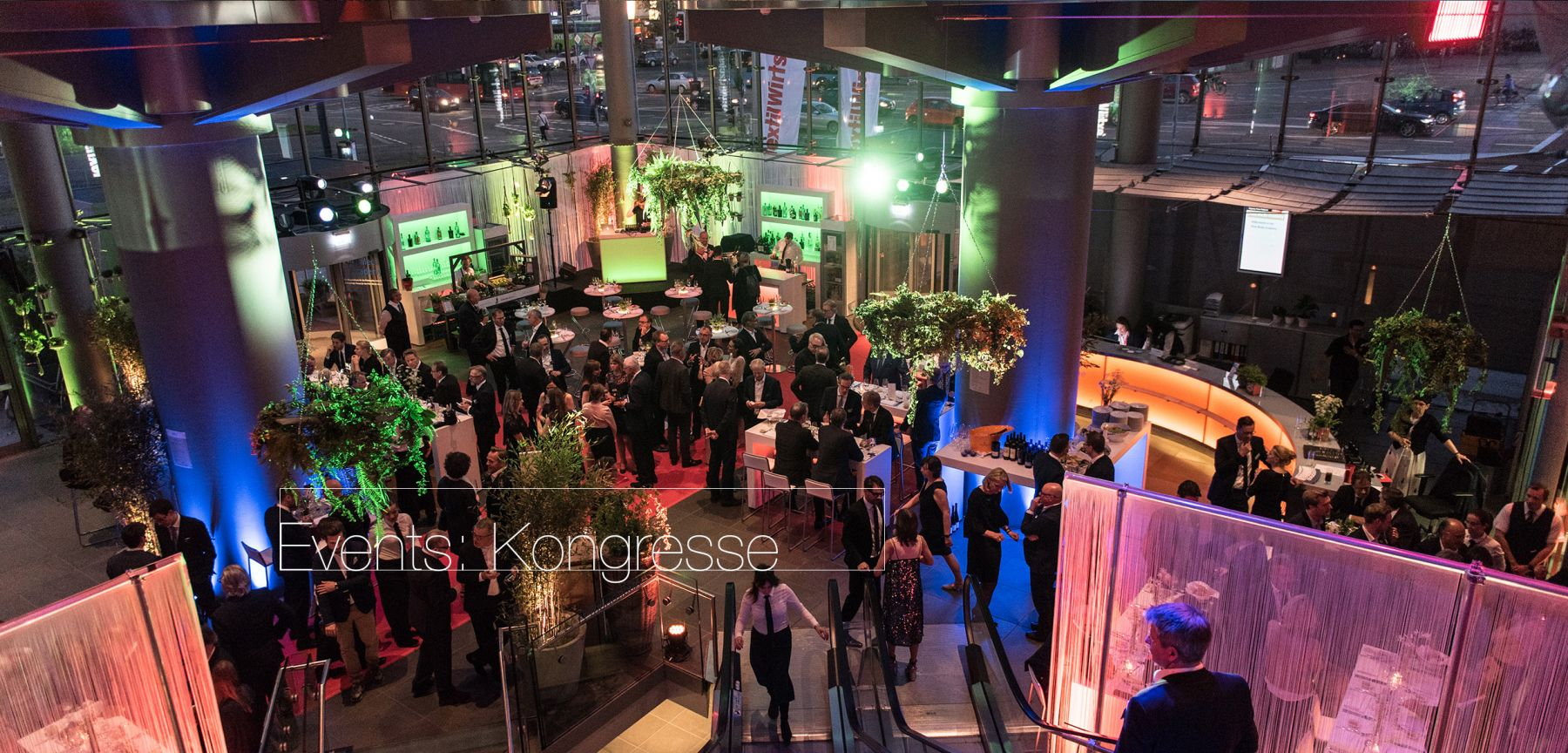 Eventfoto vom Textilkongress für Hafenwerk Eventdesign